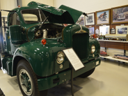 This 1962 Mack B67 was donated to the museum by the Barillo Family. Photo: Jack Roberts
