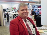 Doug White, vice president of maintenance of Dunbar Armored, Hunt Valley, Md., is TMC's...