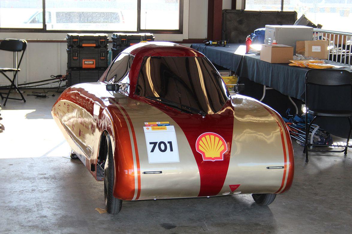 Shell Lubricants Eco-marathon Competition