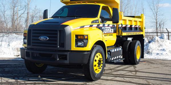 Ford F-750 Tonka Dump Truck