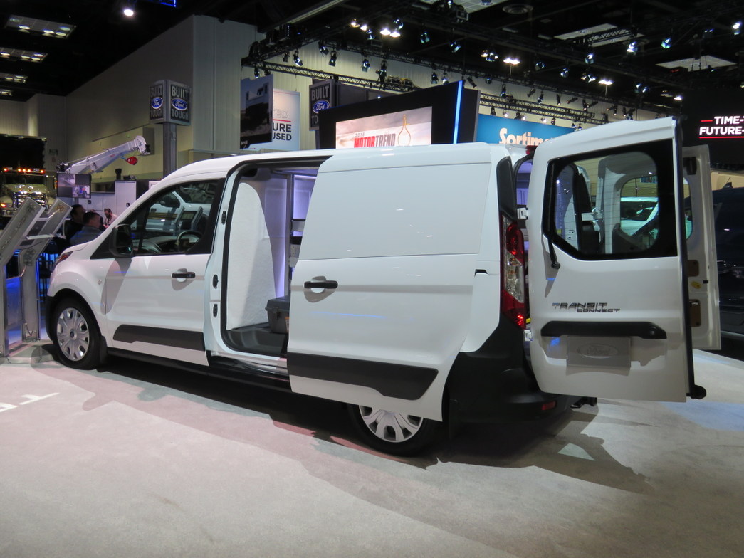 The new Ford Transit Connect will offer theEcoBlue dieselengine, which Ford said should...