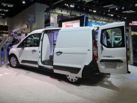 The new Ford Transit Connect will offer the EcoBlue diesel engine, which Ford said should...