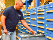 Scott Stephens is a parts counter salesperson at the Montgomery, Alabama location.