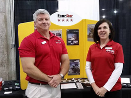 Four Star Freightliner is always scouting new talent. David Carroll, training manager and Joann...