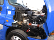 The Detroit DD13 was rated at 450 horsepower and 1,550 pounds-feet. The DT12 transmission...