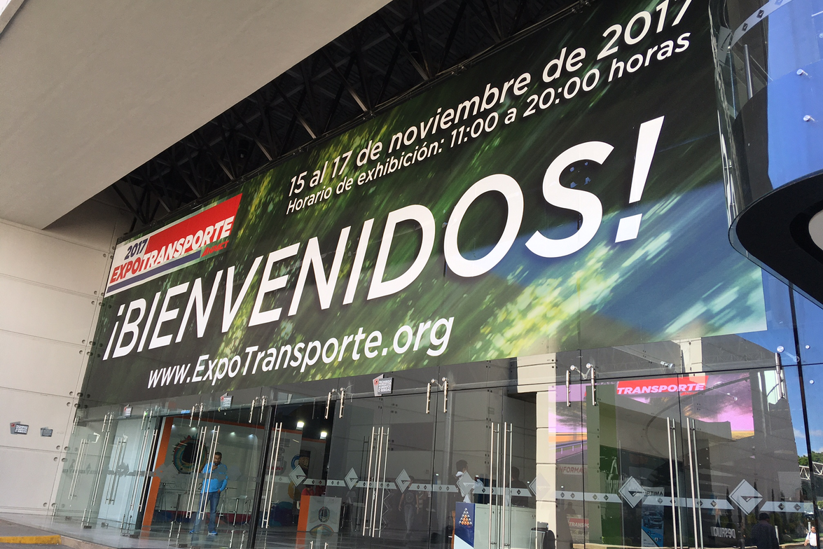 Expo Transportes is Mexico's big trucking trade show.