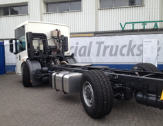 This Mercedes Econic model 2530 is designed for really tight spaces. It has to be modified with...
