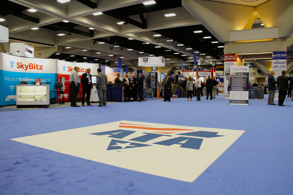 General sessions were held in the exhibit hall this year, meaning more traffic for exhibitors.