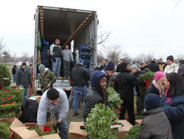 Arpin Van Lines volunteered to transport an estimated 5,000 wreaths from Columbia Falls, Maine,...