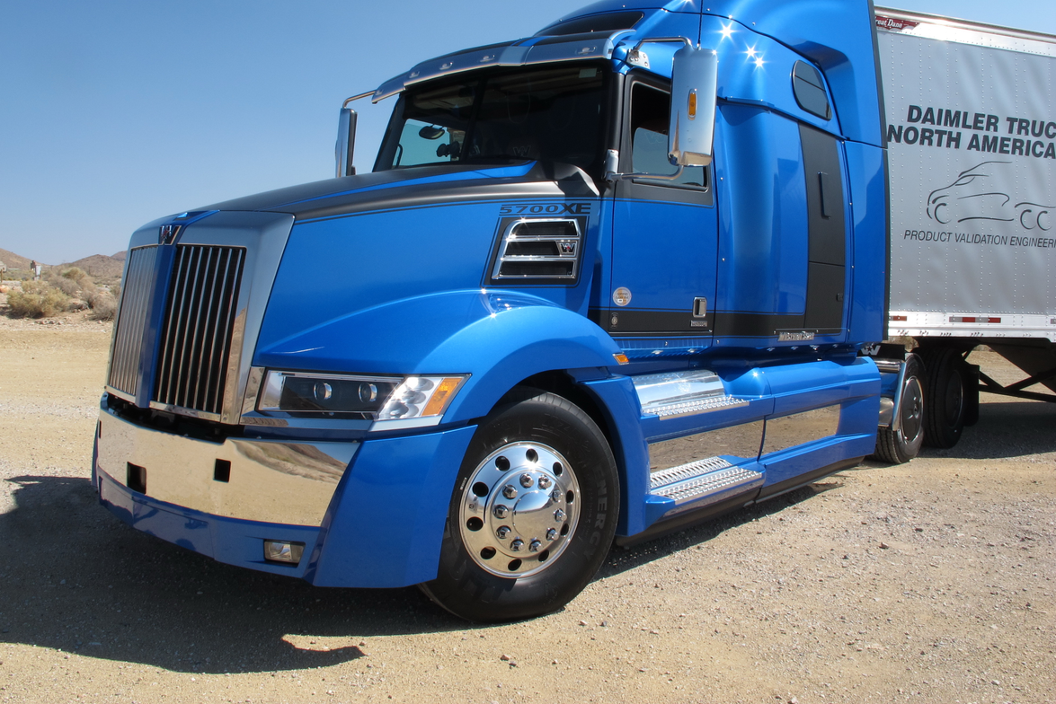 The target market for Western Star's 5700XE is owner-operators and small- to medium-sized fleets...