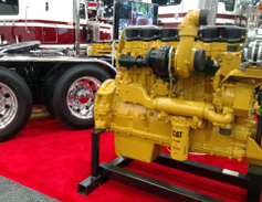 Caterpillar left the new-truck engine business more than six years ago, but its engines live on....