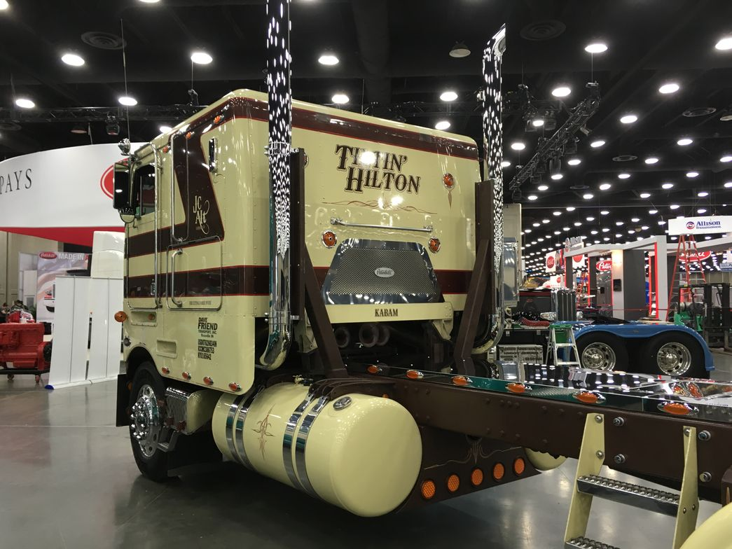 "The name on the back of the sleeper is ""Tiltin' Hilton."" Photo: Jim Park"
