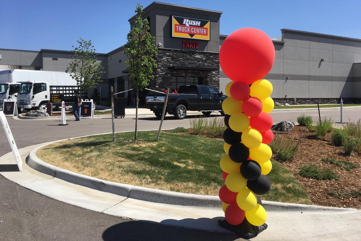 Rush Truck Centers >> Grand Opening Rush Truck Centers Denver Location Fleet