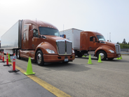 """Two """"Aurora"""" painted T680s, the one on the right a lightweight spec."""
