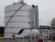 Pivotal LNG's Trussville, Ala., facility can hold nearly 5 million gallons of LNG. There are 151...
