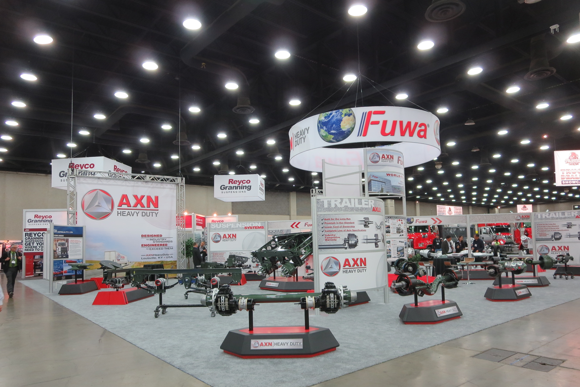 The name may sound regional, but Mid-America draws exhibitors from all over -- even China....