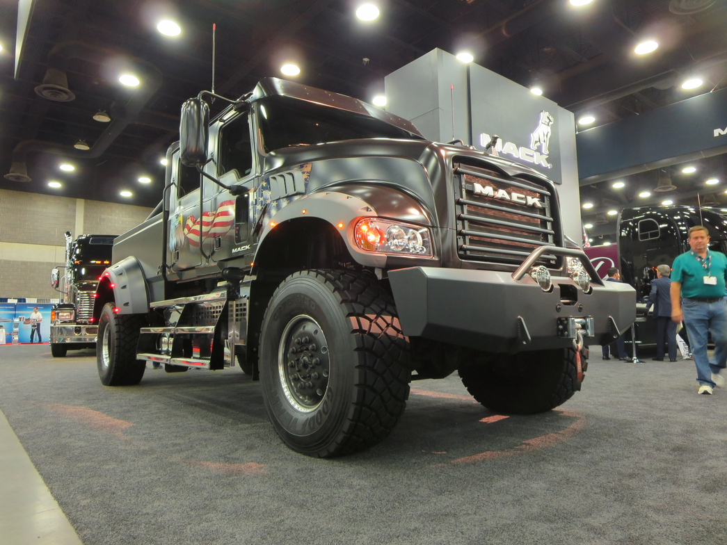 "Mack Trucks' Jack Mack is a customized mega-pickup, a ""what if"" exercise highlighting some of..."
