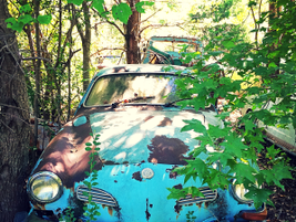 Not all Porches end up in millionare's garages. Photo: Christina Hamner