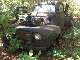 Most of the old trucks are stripped of engines and other valuable components. Photo: Jack Roberts