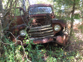 "This old Ford seems to be saying, ""Whatever."" Photo: Jack Roberts"