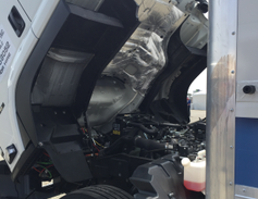 The FTR is powered by a 4HK1-TC 5.2L turbocharged four-cylinder diesel engine — a first in the...