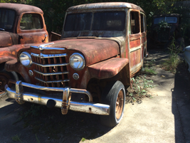 This old Jeep would probably crank right up with a bit of work and a fresh battery. Photo: Jack...