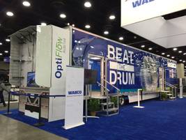 Wabco exhibited its Technology Showcase Trailer for the first time at MATS before embarking on...