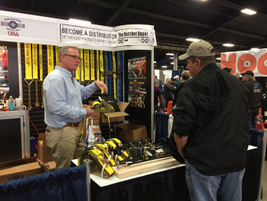 Sights seen in the MATS West Wing, where a lot of smaller exhibitors are located. Photo: Deborah...