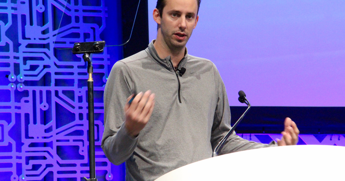 Anthony Levandowski, co-founder of the autonomous trucking startup Otto, shared his vision for...