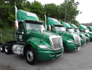 Cowan Systems is now running about 1,700 Navistar or Peterbilt tractors and 4,000 Wabash...