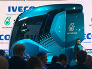 Iveco Z Truck zero-emissions concept using LNG & biomethane technologies w/ waste heat recovery....
