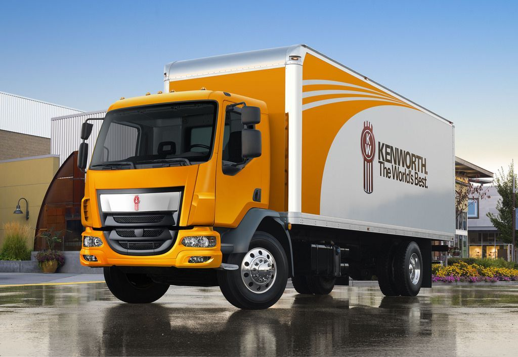 Kenworth's Class 6 Kenworth K270 cabover and Class 7 Kenworth K370 cabover (pictured) are...