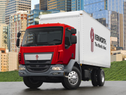 The enhanced K270 and K370 (pictured) cabovers feature a new dash and gauge cluster, front air...