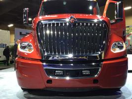 The new bumper incorporates the Bendix Wingman Fusion advanced collision mitigation and safety...