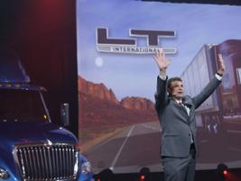 Jeff Sass, senior VP, sales and marketing, said Navistar had gotten orders for 2,000 LTs before...