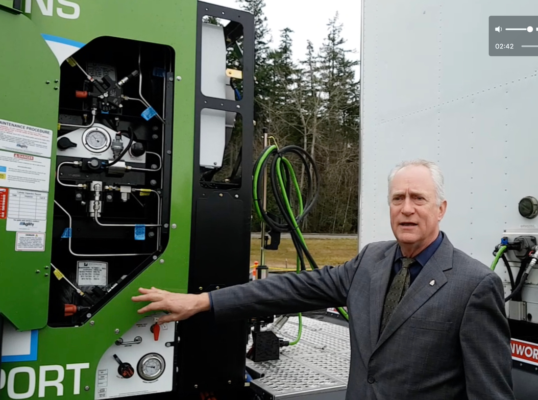 Funding for the development of the truck comes through the Department of Energy's office of...