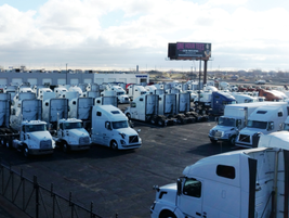 The Des Plaines, Illinois location of M&K Truck Centers was renovated in 2014 to expand the...