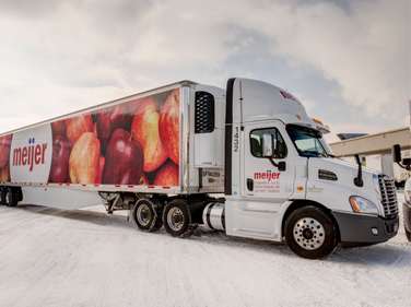 Meijer finished converting its 170-truck fleet of regional daycabs to the 2010 engines last...