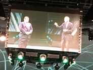 Michelin CEO Jean-Dominque Senard(right) kicks off the event by declaring that thetime has...