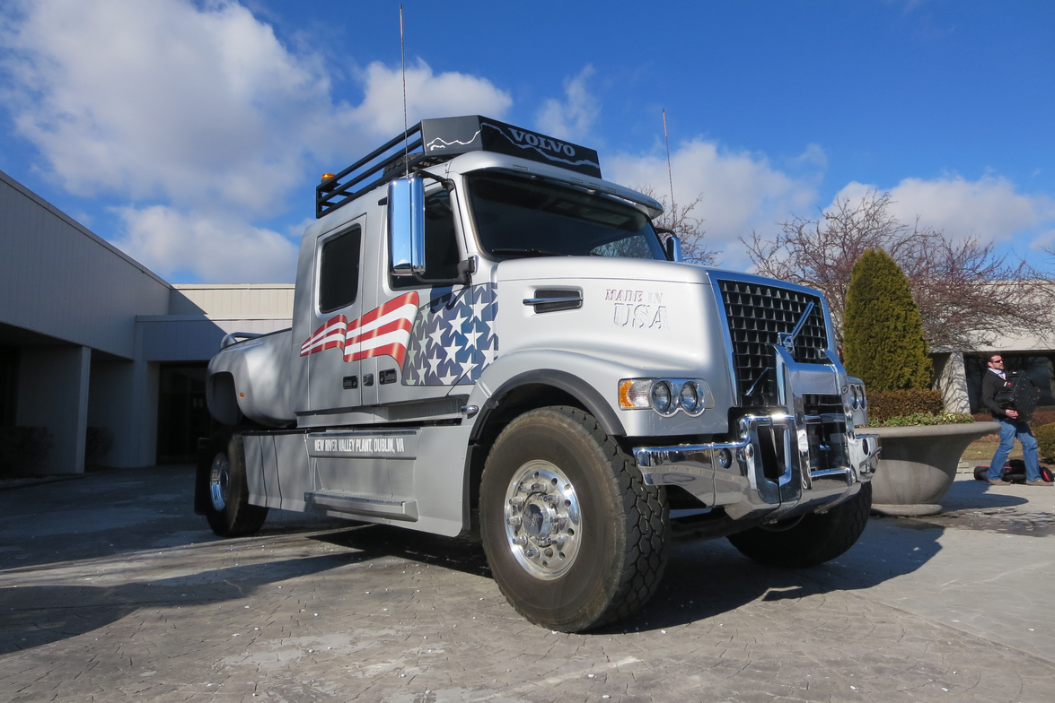 This giant pickup truck was a custom project done by plant employees for fun. (Read more here.)...