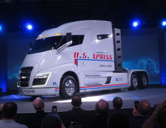 U.S. Xpress lettering suggests strong support from the Chattanooga-based carrier's chairman, Max...