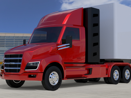 Daycab version, called Nikola Two, looks like a normal conventional. Its hood will house a...