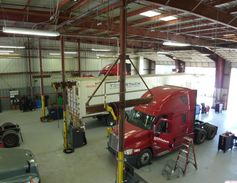 The facility features a 30,000-square-foot maintenance shop with eight service bays and a...