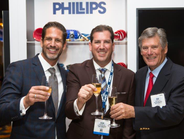 (Left to right) Rob Phillips, president and COO, David Phillips, VP of marketing and Bob Phillips.