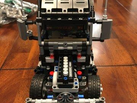 Lego's set includes incredible detailssuch as movingengine pistons.The pistons even move in...