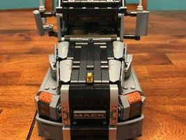 Mack and Lego designers began collaborating on the project in mid-2016.