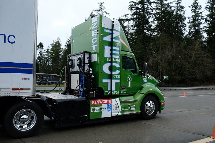 Kenworth's Zero Emissions Cargo Transport