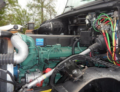 The VNX comes with just one engine, Volvo's own 16.1-liter D16. This one was rated at 600...