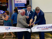 It's official. ATA MC&E 2017 is open now that the ribbon is cut. Photo: Evan Lockridge
