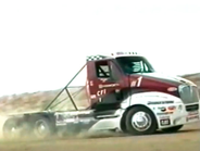CFI teamed up with Kenworth to build special race trucks, including this 2002 Pikes Peak Hill...